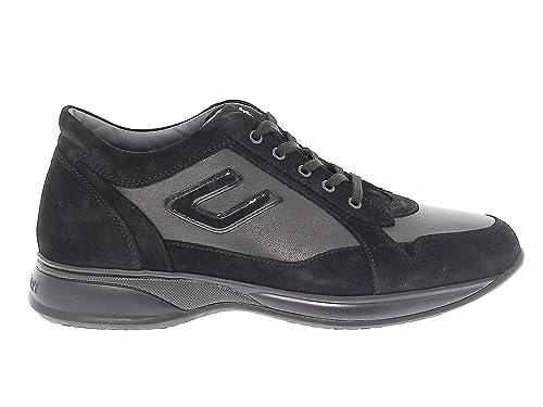 the best attitude a248a a9240 Cesare Paciotti 4Us Sneakers Uomo 4USCU3CA Camoscio Nero ...
