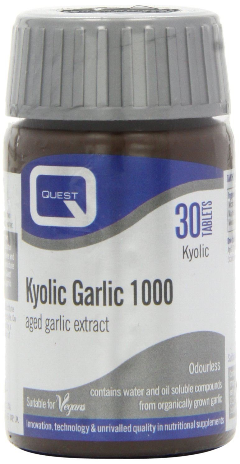 (12 PACK) - Quest Kyolic Premium Garlic 1000Mg Tablets | 30s | 12 PACK - SUPER SAVER - SAVE MONEY