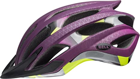 Bell Unisex - Casco de Bicicleta Drifter Matte Plum Deco, S ...