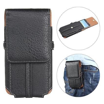 """edfed3f4d9 Borsa Clip Cintura per Smartphone, Moon mood 5.5"""" Universale Verticale  Borsello da Uomo Sacchetto"""
