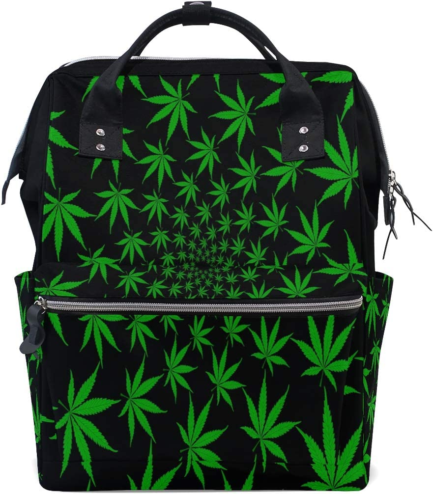 Vinlin Marijuana Leaves - Mochila, diseño de hojas