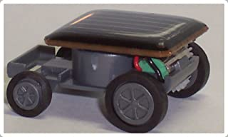 SODIAL(R) Coche Solar - Coche Solar Mas Pequeno del Mundo - Juguetes Educativos con Energia Solar