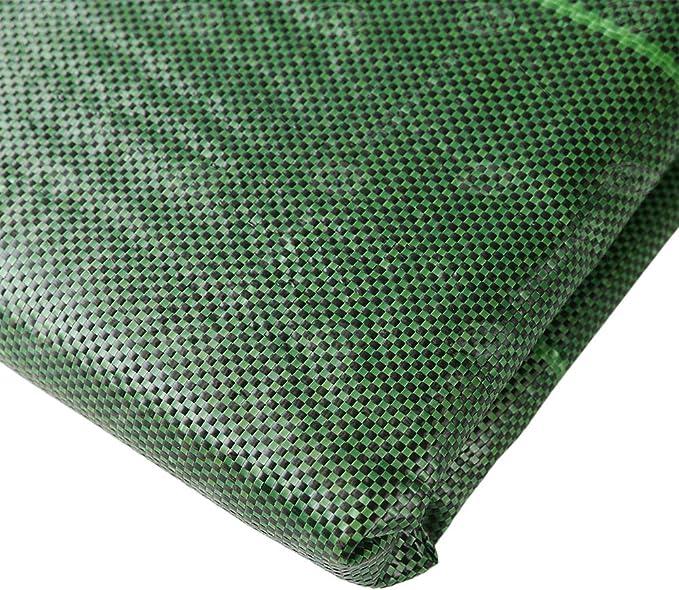 GroundMaster Tissu Anti-Mauvaises Herbes Ultra r/ésistant 125 g//m/² Membrane de Protection Verte pour all/ée de Jardin 1m x 10m