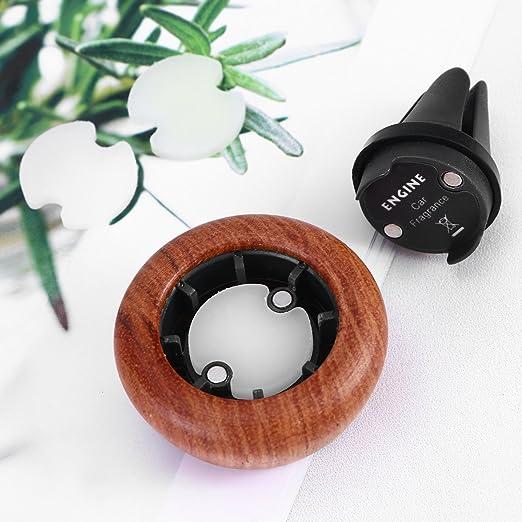 Ultnice Automatischer Lufterfrischer Für ätherisches Öl Und Aromatherapie Braun Drogerie Körperpflege