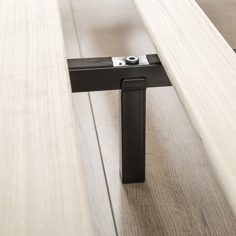 Zinus Modern Studio 6 Inch Platforma Low Profile Bed Frame, Mattress Foundation, Boxspring Optional, Wood slat support, Twin by Zinus (Image #5)