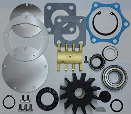 Amazon com: SCP Raw Sea Water Pump Rebuild Kit for Jabsco