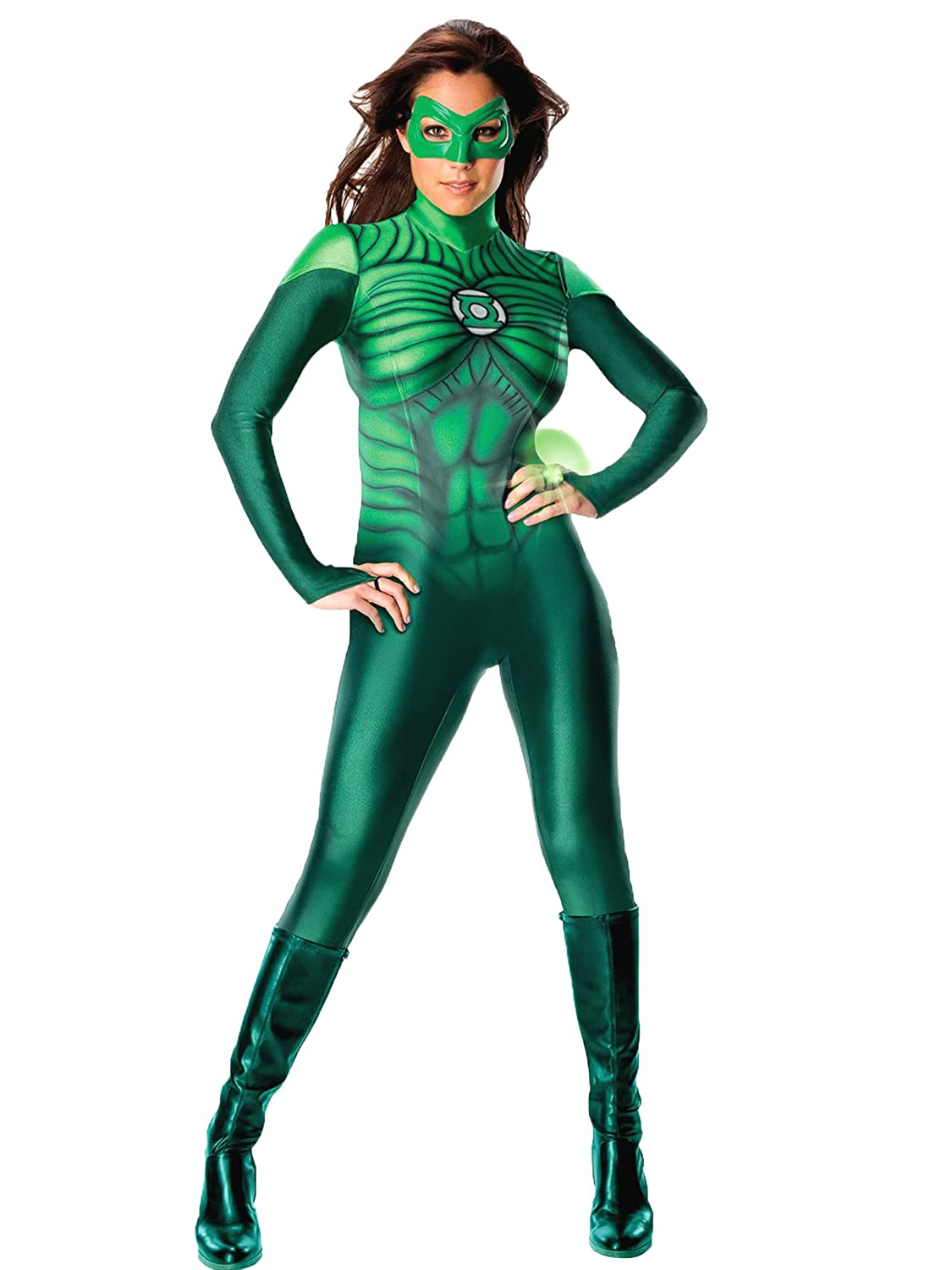 Amazon.com: Sexy Green Lantern Costume Superhero Suit Movie Comic ...