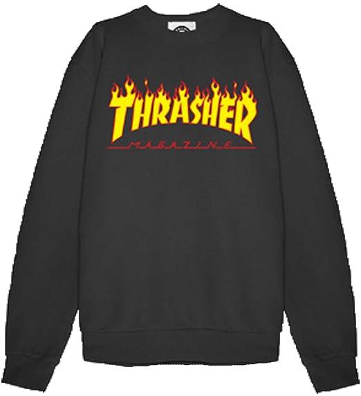 9c0aa94f401 Thrasher Men's Sweatshirt: Amazon.co.uk: Clothing