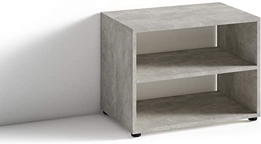 Homexperts Vancouver - Mueble para televisor (hormigón, 60 x 45 x 39 cm): Amazon.es: Hogar