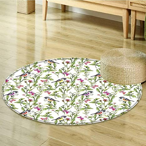 Amazon Com Sigrid Sapir Diy Print Area Rug Flower Seamless