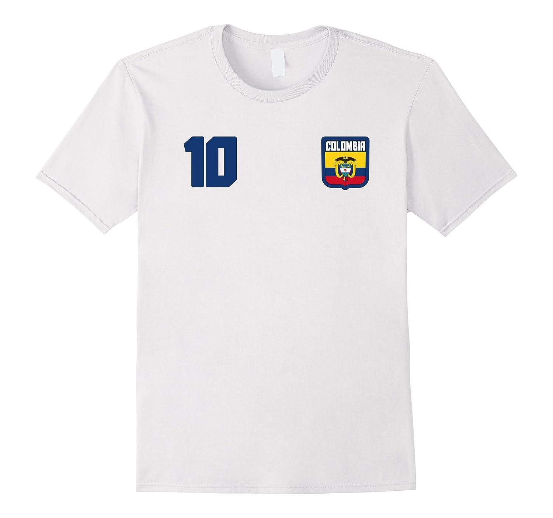 COLOMBIA T-shirt Colombian Tee Retro Soccer Football Camisa