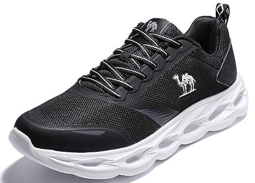 low priced ba542 f35b7 CAMEL CROWN Sportschuhe Herren Freizeit Mode Sneaker Laufschuhe Turnschuhe  Leichte Bequeme Running für Männer Jungen Sport Gym Fitnessschuhe