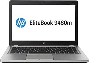 "HP EliteBook Folio 9480m 14"" LED Ultrabook Intel Core i5-4310U 2GHz Platinum J5P79UT#ABA"