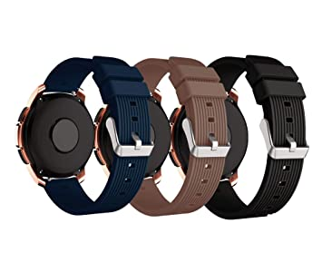 XingWangFa for Samsung Galaxy Watch (42mm) Straps Correas[3 Pack ...