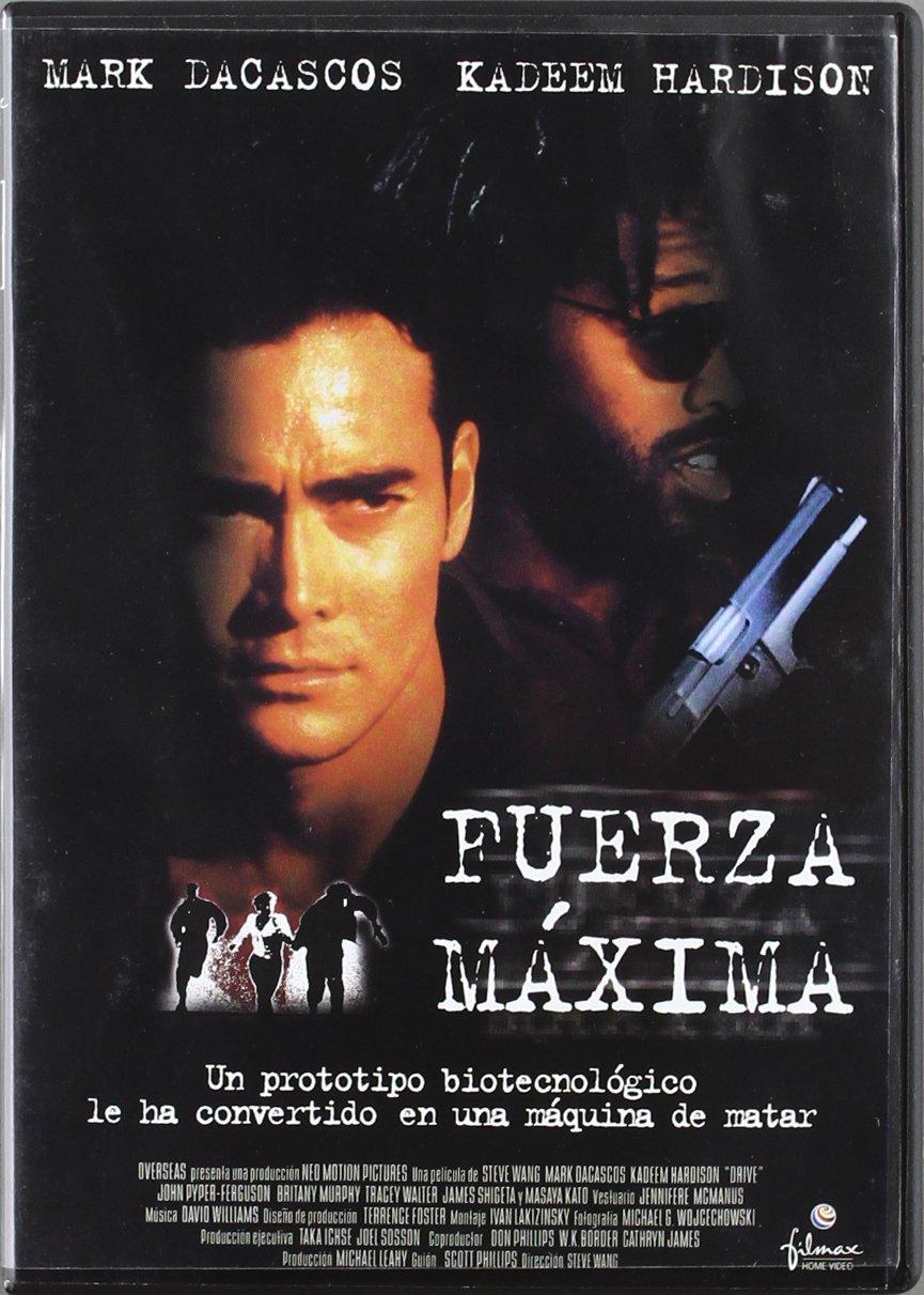 Fuerza máxima [DVD]: Amazon.es: Mark Dacascos, Kadeem ...