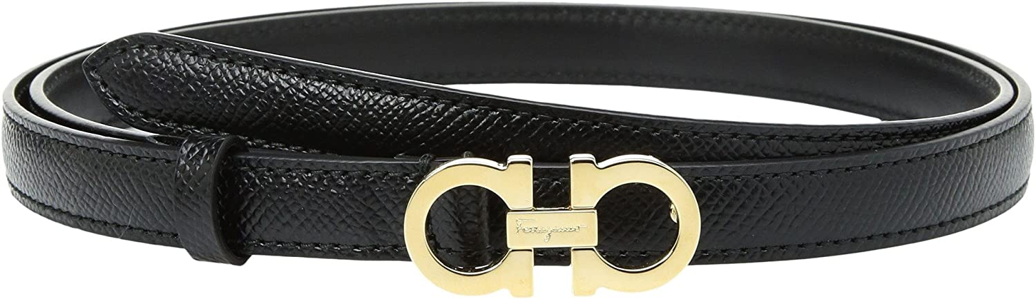 Salvatore Ferragamo Women's 23B224 Nero Belt