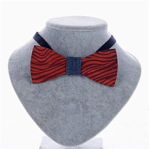 Corbata de cuello formal para hombre Corbata de rayas Talla de ...