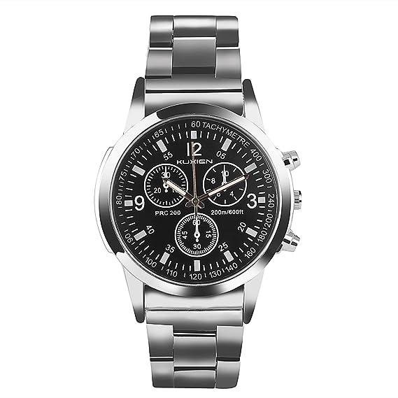 Relojes,Relojes de pulsera KUXIEN Reloj para Hombre,Reloj deportivo para Hombres de Negocios