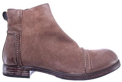 Bottines 64703 Chaussures Homme Marron Moma Cuir R2 Pelle Vintage SnEtxwRx