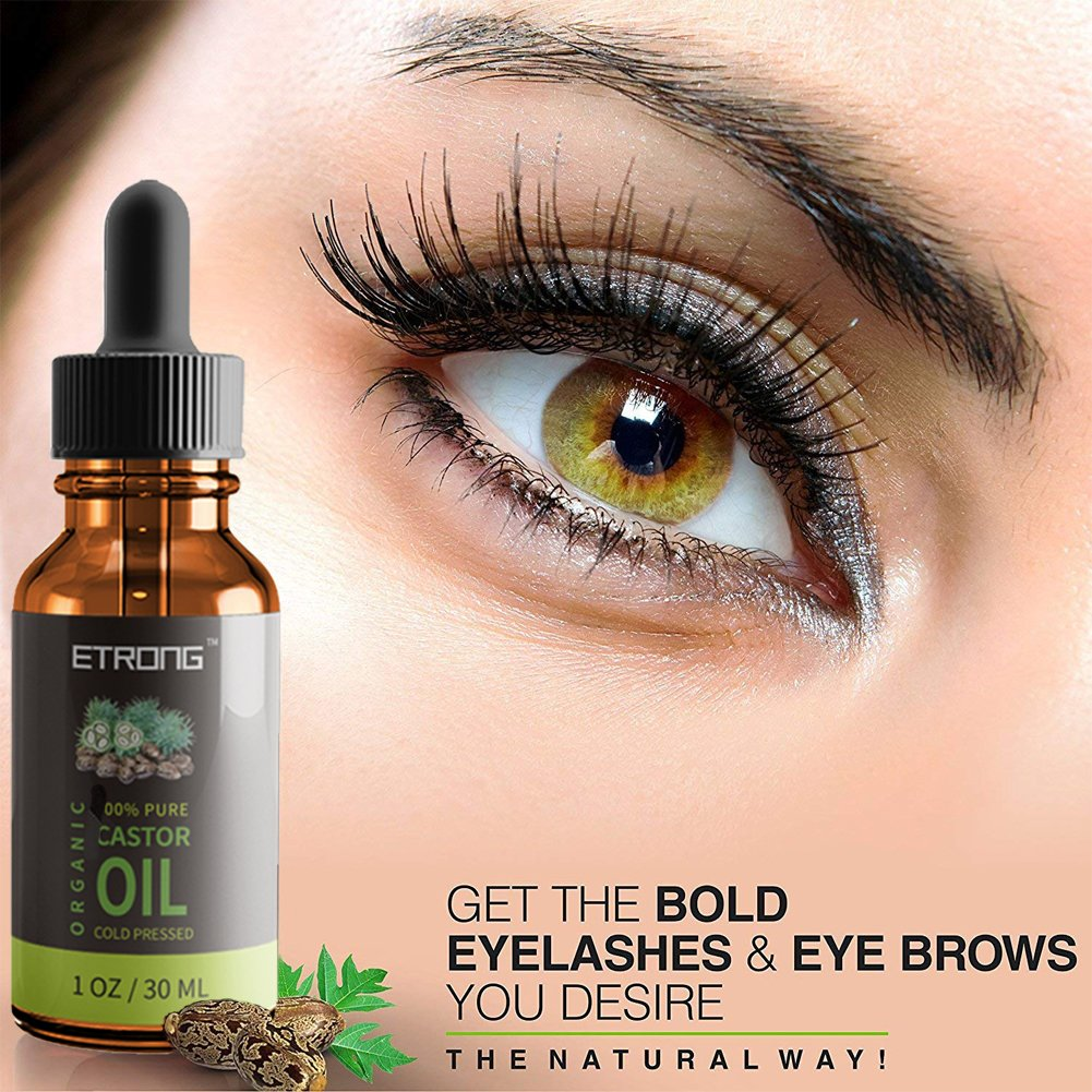 Organic Castor Oilcold Pressed Pure Castor Oil For Haireyelashs