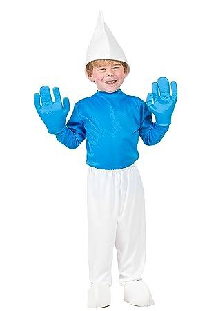 Disfraz Pitufo (5-6 AÑOS): Amazon.es: Juguetes y juegos