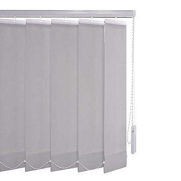 Liedeco Vertikalanlage Lamellenanlage Lamellenvorhang Vertikaljalousie   viele Farben   Lamellenbreite 89 mm   Höhe 180 cm, o