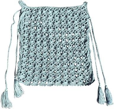 Falda De A-Línea Mujer Crochet Cintura Alta Bikini Acampanado ...