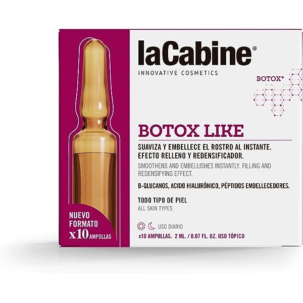 La Cabine Ampollas Botox - Ácido hialurónico cápsulas ...