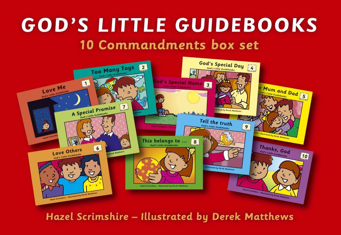 god u0027s little guidebooks box set 10 commandments box set colour