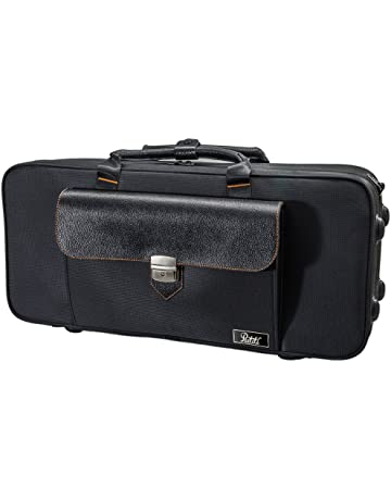 SKY Trumpet Lightweight Case, Genuine Leather Handle, Backpackable