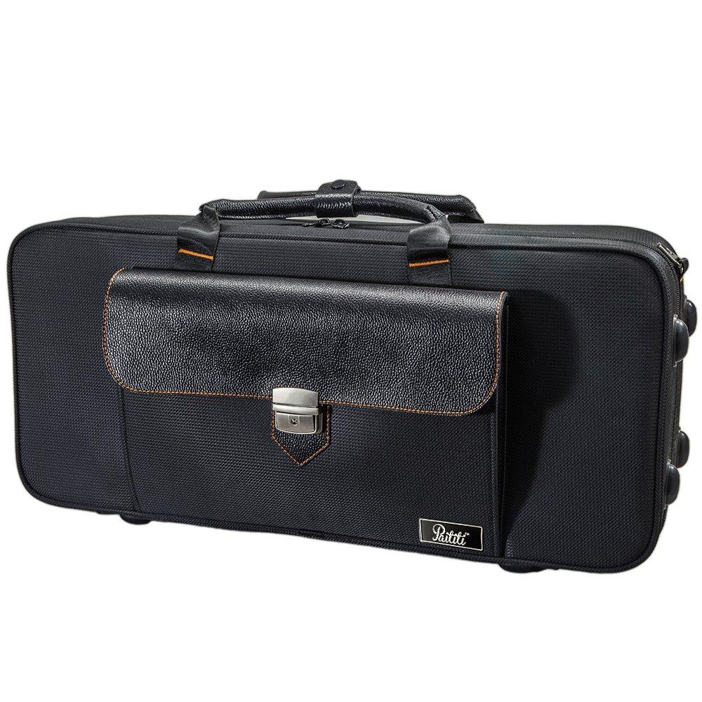 SKY Trumpet Lightweight Case, Genuine Leather Handle, Backpackable