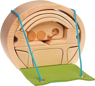Grimm/'s Holzspielzeug Kinderspielzeug NEU! Tunnelsatz natur