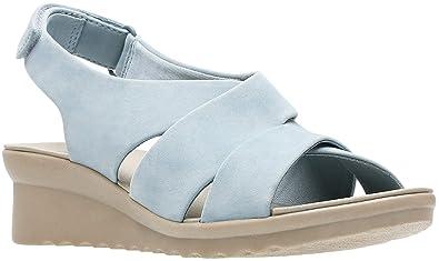 606ba17fc4f8 CLARKS Women s Caddell Bright Sandal (6 M US