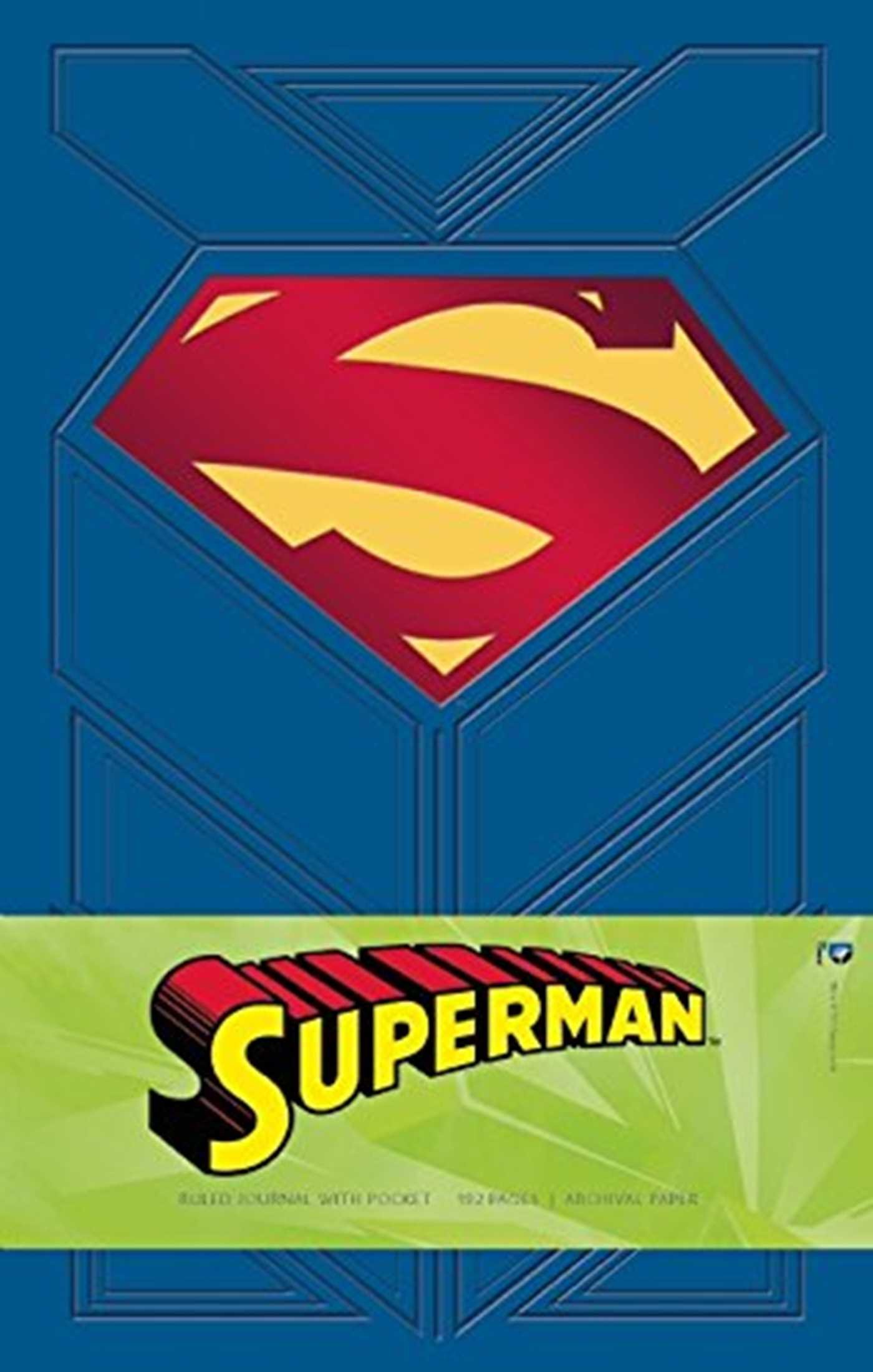 superman ruled pocket journal insights journals