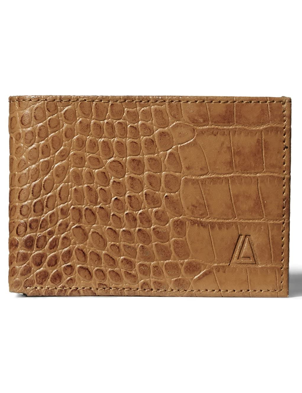 Leather Architect Mens 100/% Leather Wallet with RFID Blocking