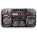 80s Classic Boombox Radio Cassette Player Samsung Galaxy S5 Armor Phone Case