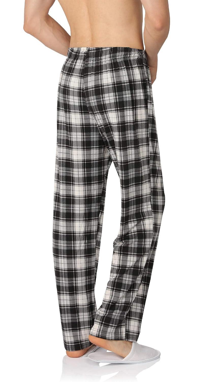 YIMANIE Mens Pajama Pant Cotton Comfy Soft Lounge Sleep Pants