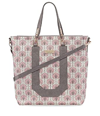 bb16a86eaab3d7 Tamaris FIORELLA Shopping Bag 2923182-590 Umhängetasche Handtasche in Rose  Comb.  Amazon.de  Bekleidung