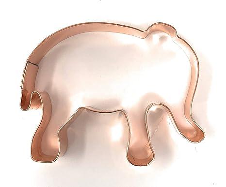 Bebé elefante molde para galletas