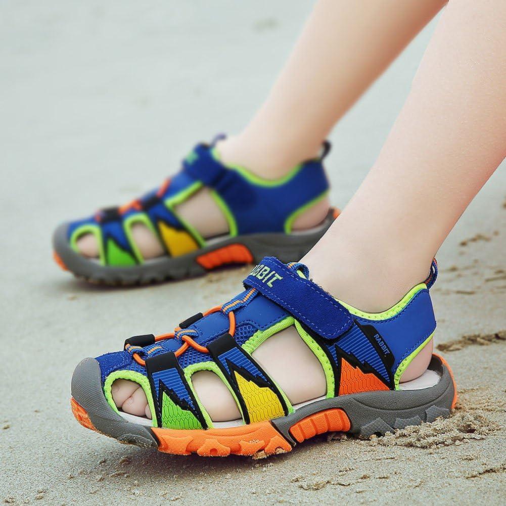 Sandales Bout Ferm/é Gar/çon Antid/érapantes Sportives Sandales Respirant Chaussure de Sports /Ét/é