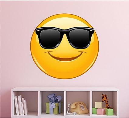 emoji wall decal sunglasses emoji wall decal emoticon wall decal emoji decals
