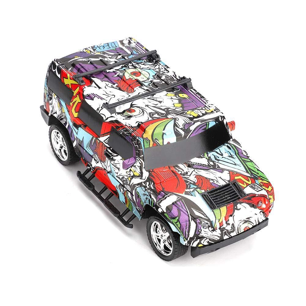Coche de Control Remoto Zerodis 4CH Volante Control Remoto Buggy Racing Car RC Modelo Juguete Aprendizaje Educativo ni/ños