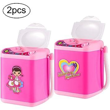 Amazon.com: 2 piezas de limpiador de brochas de maquillaje ...