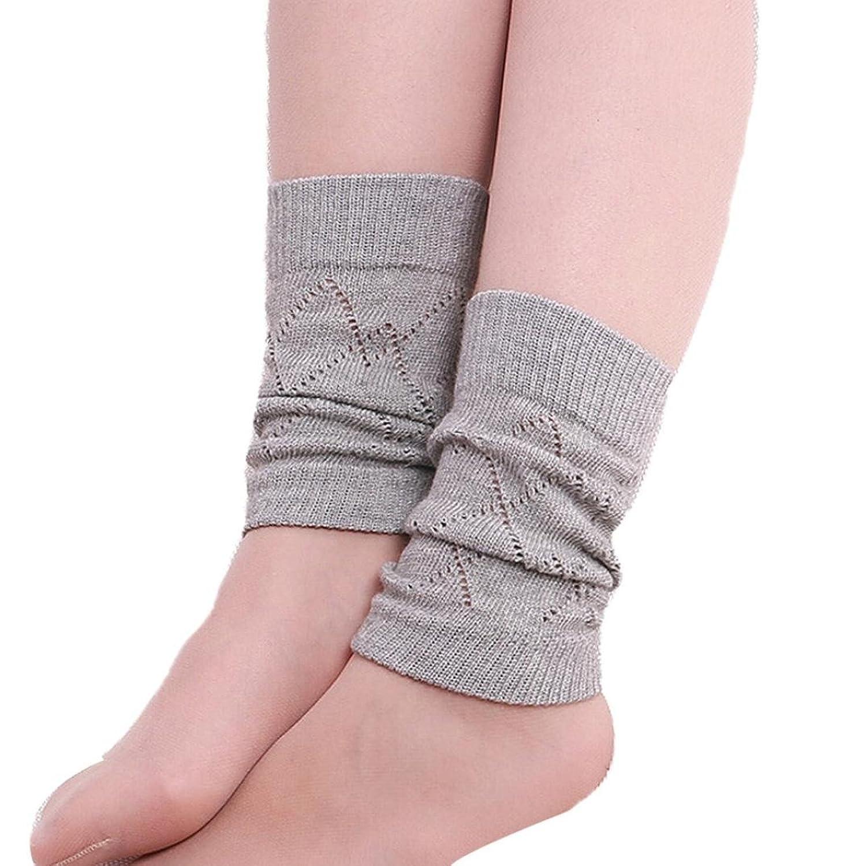 HP95(TM) Women Girls Stretch Boot Leg Cuffs, Winter Warm Leg Warmer Socks