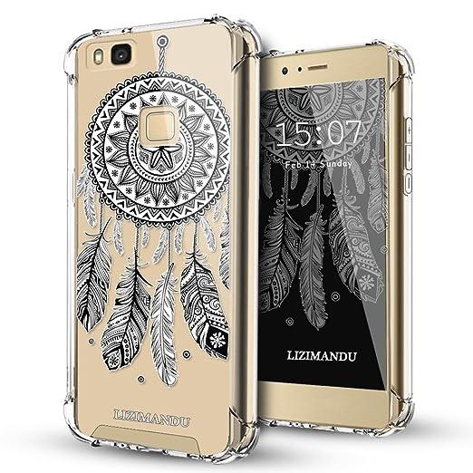 9 opinioni per Huawei P9 Lite Case Cover,Lizimandu Trasparente TPU Gel Silicone Bumper