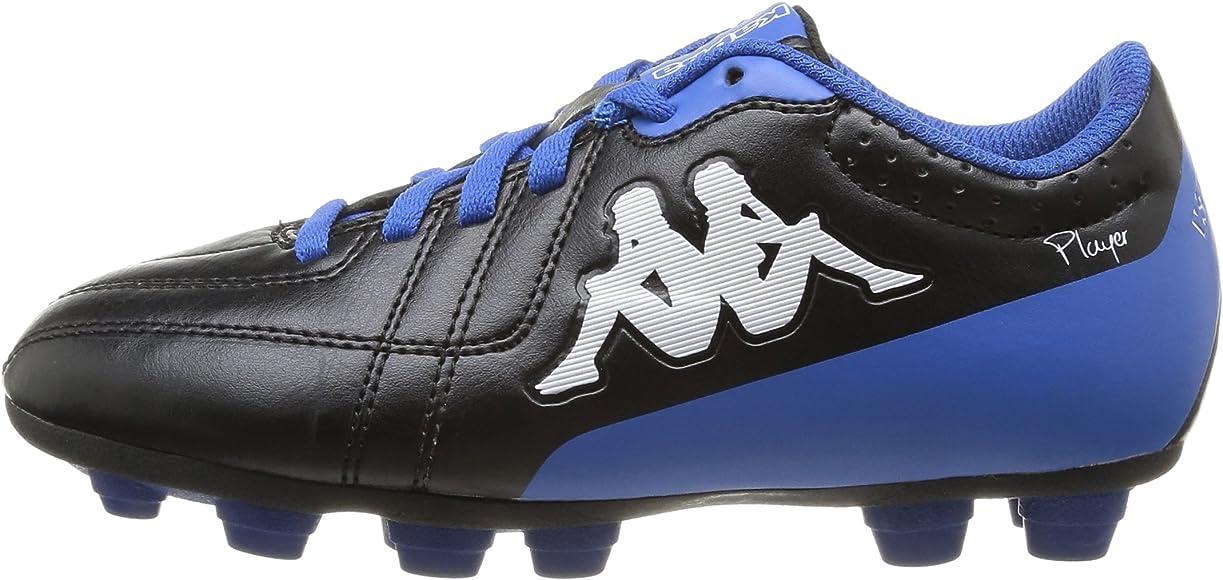 Kappa 4 Soccer Player FG kid Footwear Black//Blue