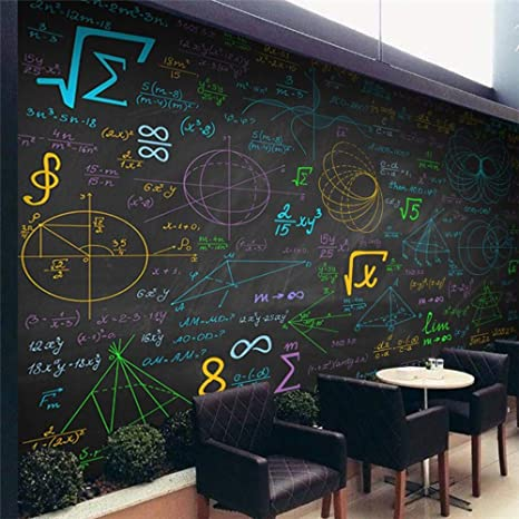 Bizhii Fondo De Pantalla Matemáticas Fórmula Pizarra Mural ...