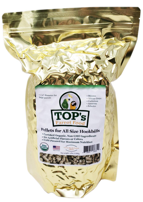 TOP'S Outstanding Bird PELLETS - 4LB by TOP's Parrot Food