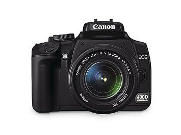 Canon EOS 400D - Cámara Réflex Digital 10 MP (Objetivo EF-S 17 ...