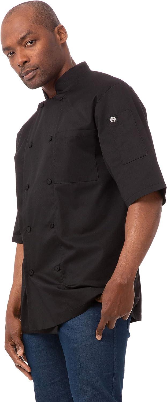 Chef Works Men's Montreal Cool Vent Chef Coat